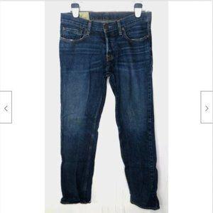 Hollister Mens Slim Straight Leg Denim Jeans 31